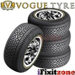 4 Vogue Tyre Custom Built Radial Vii 215 70r15 98t Sl Performance Tires