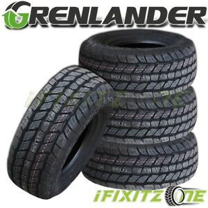 4 New Grenlander Maga A t One 245 70r16 107t All Terrain Tires