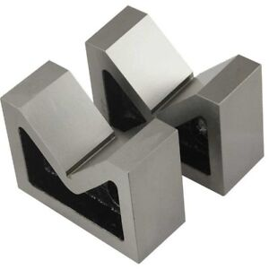 Cast Iron Vee Block 3 V Block Set Of 2 Pcs without Clamp