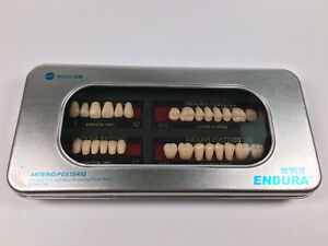 Dental Plastic False Tooth Artificial Teeth Denture M28 m30 m32 A2 Free Ship