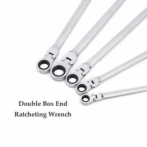 Extra Long End Ratcheting Wrench 5x Metric Universal Spline Xl Flexible Head