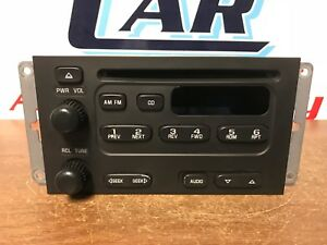 2001 Chevrolet Tracker Radio cd Player c 37