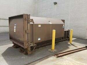 Ramjet Large Commercial Trash Compactor Dumpster 220 x94 x87 Delivery Available