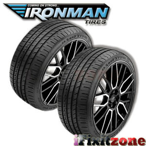 2 New Ironman Imove Gen 2 As 255 35zr19xl 96w Quality Uhp All Season Tires