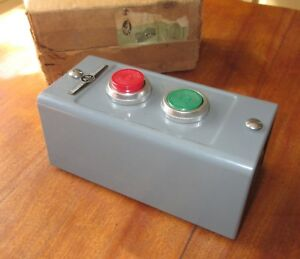 Allen Bradley 800 2ha Start Stop Push Button Switch For Industrial Equipment
