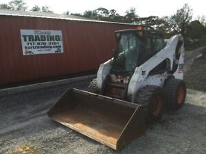 2009 Bobcat S300 Skid Steer Loader W Cab High Flow Joysticks