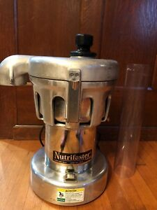Commercial Juicer Nutrifaster N450 Bought Refurbished Barely Used