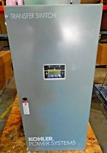 New Nema 1 Indoor Kohler Kss dcva 0400s Automatic Transfer Switch 400a 208v 4p