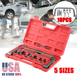 10pcs 5sizes Valve Spring Compressor Pusher Tool For Car Motorcycle Us Ships