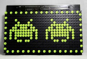 Flip Dot Sign Matrix Display Panel Module 16x30 Annax Flipdot Flip dot Arduino