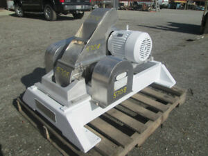 Fitzpatrick Model Das06 Hammer Mill Hopper Feed S s Product