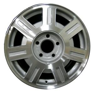 16 Cadillac Deville 2003 2004 2005 Factory Oem Rim Wheel 4569 Silver Machined