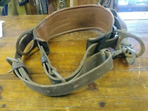 Safety Harness Tree Climbers Belt Buckingham Thick Klein Tools Safety Strap