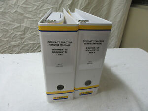 2 Dealer Service Manuals New Holland Boomer Tractor 40 50 Tier 3b 47698299