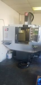 Haas Super Mini Mill 2 Low Hours And Brand New Spindle