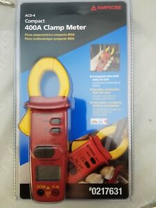 Amprobe Acd 4 Compact 400 Amp Clamp Meter