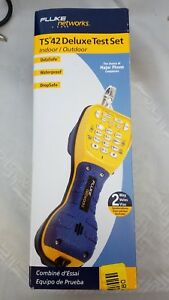Fluke Networks Ts42 Deluxe Butt Set New In Box With Piercing Pin Cord Cord