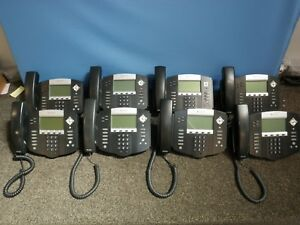 Lot Of 8 Polycom Soundpoint Ip550 Office Phones