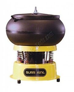 Vibra Burr King 110 Bench Top Vibratory Bowl 3 Qt Bowl 1 30 Hp 120v