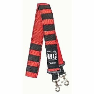 Homeland Six Red Radio Strap With Black Tabs Red Radio Strap W Black Tabs