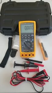 Used Fluke 789 Process Meter With Leads storage Case And More Must See