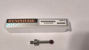 Renishaw A 5000 6731 Stainless Steel Stylus M4 Thread 5mm Ruby Ball new