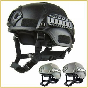 Airsoft Tactical Helmet Lightweight Outdoor Head Protect Equipment Accessories
