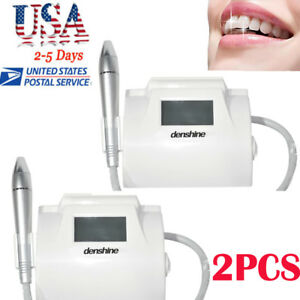 2 touch Screen Fiber Optic Dental Piezo Ultrasonic Scaler Cavitron Scaling Perio