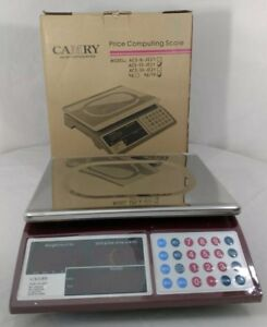 Camry Price Computing Scale Led Display Ac dc Rechargeable New Boxed