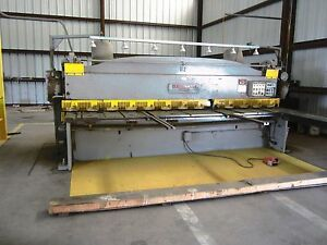 1 4 X 12 Cincinnati 1812 Mechanical Power Squaring Shear
