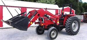 Mf 362 Tractor With Allied 495s Loader low Hrs Delivery 1 85 Per Loaded Mile