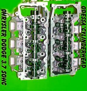 Pair Jeep Liberty Dodge Durango Dakota 3 7 Sohc Cylinder Heads V6 2007 2013