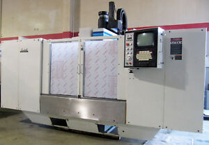 1997 Fadal Vmc 6030 Cnc Vertical Mill 60 x30 Box Ways Rigid Tap Just Arrived