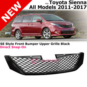 Front Bumper Cover For 2011-2017 Toyota Sienna Primed Plastic