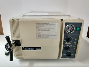 Tuttnauer 2540mk 10 Dental tattoo Manual Sterilizer Steam Autoclave 220 V