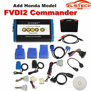 Fvdi2 Commander Obd2 Diagnostic Code Reader Scanner With 18 Software