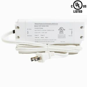 Ledupdates 24v 30w Triac Dimmable Power Supply 1 25a Ul Listed For Led Light