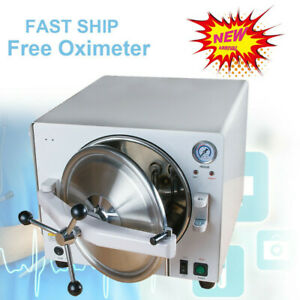 18l 900w Medical Autoclave Steam Sterilizer Dental Lab Equipment tool free Gift