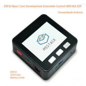 Esp32 Basic Core Development Extensible Control Wifi Ble Iotfor Arduino M5stack