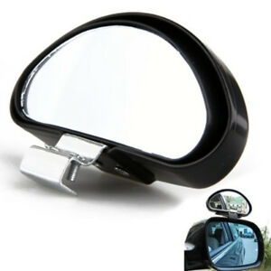 Universal Car Vehicle Blind Spot Mirror Adjustable Wide Angle View Safety Turn
