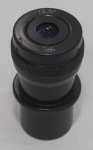 Old Style Dfv 12 5x 25mm Eyepiece For Zeiss Opmi Surgical Microscope