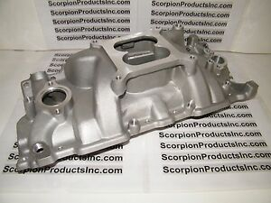 Sbc Small Block Chevy Aluminum Intake 350 Performance Intake 327 350 383 400