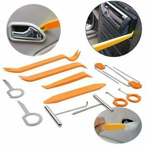 12pcs Panel Removal Open Pry Clip Tool Kits Car Auto Dash Door Radio Stereo Trim