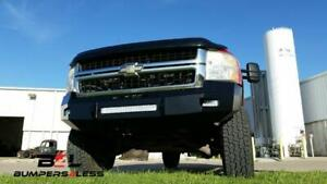 Iron Cross 40 525 07 Blk Low Profile Frnt Bumper For 2007 10 Chevy 2500hd 3500hd