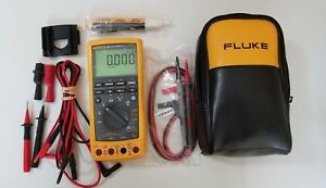 Used Fluke 789 Process Meter With Leads storage Case And More Tp 224139