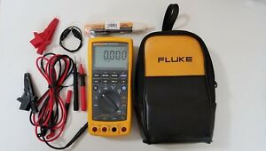 Excellent Fluke 789 Process Meter With Leads storage Case And More Tp