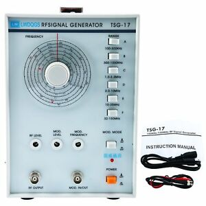 110v High Frequency Signal Generator Rf Raido Frequency 100khz 150mhz New Usa
