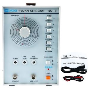 100khz 150mhz High Frequency Signal Generator Tsg17 Rf radio frequency Us Ship