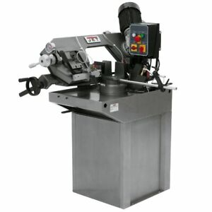 Jet J 9180 3 1 hp 230v 7 Heavy Duty Adjustable Zip Miter Horizontal Bandsaw