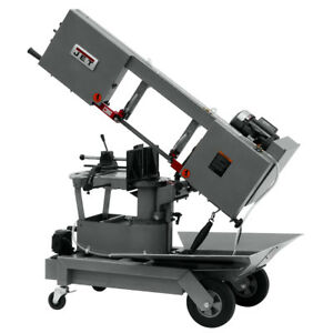 Jet 424463 115 volt 1 hp Self Propelled Dual mitering Portable Band Saw